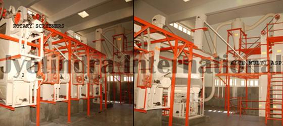 Machine For Cleaning of Ispaghula Seeds,Jyotindra Intarnational